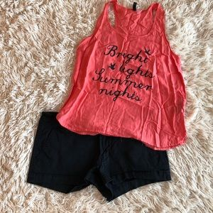 Coral Tank Top from H&M Size 6